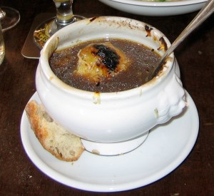 Onion soup Paris